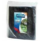 5ft x 6ft Black Heavy Duty PVC Pond Liner