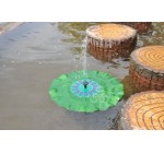 VicTsing® Solar Powered Lotus Leaf Pool Pond Water Floating Fountain Pump For Garden Yard