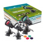 Pond or Garden LED Sumbersible Light Set – Interchangeable colours
