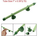 Fish Tank Aquarium 7″ Green Air Diffuser Tube Bubble Wall