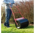FOX 65 Steel Garden Lawn Roller Heavy Duty 500mm Working Width with Comfort Grip – Water / Sand Filled