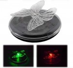 4 x floating solar butterfly lights colour changing swimming pool garden water feature