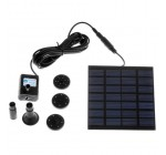 Solar Power Fountain Pool Water Pump Garden Plants Watering Kit