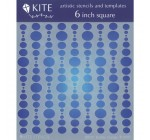 Judikins 6 Inch Square Kite Stencil-Bubble Curtain Reviews