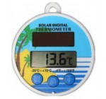 Solar Powered Digital Floating Pool / Pond Thermometer