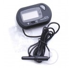 Black Aquarium Digital Thermometer Fish Tank Water