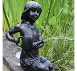 Kneeling Girl Pond Spitter Garden Water Feature Reviews