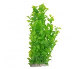 40cm Plastic Green Leaves Water Plants Decoration for Fish Tank Aquarium