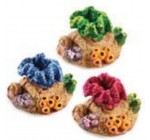 Small Coloured Coral Fish Tank Ornament