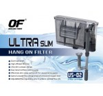 US-02 ULTRA SLIM AQUARIUM FISH TANK HANG ON FILTER 260 L/H WITH SKIMMER