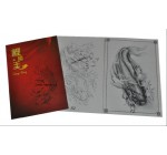 "Tattoo Flash Book A3 Carp King ""Japanese Koi Designs"""