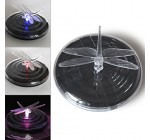 Colorful Vibrant LED Solar Light Pool Lighting Rotating Floating Pond Lights Dragonfly Reviews