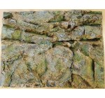 Stone Rock Wall Aquarium Fish Tank / Vivarium Reptile 3D Background 60 x 45 x 5cm