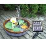 TSSS Solar Watering Pump Power Panel Kit Fountain Pool Garden Pond Submersible 175L/H Reviews