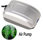 Annong 2.8W 1M 3.3L/Min Ultra Silent Single Outlet High Energy Efficient Aquarium Fish Tank Oxygen Air Pump with UK Plug