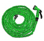 HOYY 100 FEET Expandable & Contracting Water Hose Pipe & Spray Gun for Garden Plants Watering and Car Washing (Not include connector)