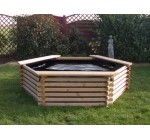 GARDEN POOL 300 GALLON & LINER – FISH POND/TANK