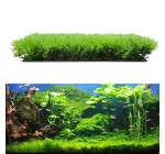 Vktech® Artificial Fake Water Aquatic Green Grass Plant Lawn Aquarium Landscape