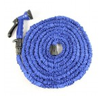Garden Hose,Strongest,Hose,Water Hose,Expandable Hose,Best Hoses,Expandable Garden  Hose,with Free 8-way Spray Nozzle,Rust-free,Watering Hose,Flexible Hose (75ft, Blue)