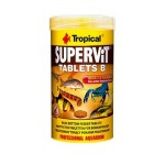 SUPERVIT TABLETS B 250ml/150g (830Tablets) Multi-ingredient sinking tablets with beta-glucan for all type of Tropical Fish