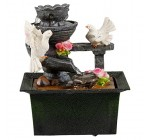 Waterfall Water Fountain Calming Feng Shui Effect Indoor Table Desk Top Feature