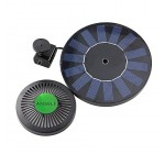 ANSELF Solar-power Fountain Brushless Pump Energy-saving Plants Watering Kit with Monocrystalline Solar Panel for Bird Bath Garden Pond¡­