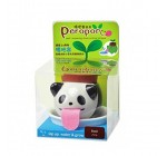 LanLan Cute Self Watering Animal Planter Drinking Animal Tongue Cultivation Mini Ceramic Plant Pots Panda-Wild Strawberry Reviews