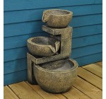 Genoa Cascading Fountain Outdoor Water Feature (Solar) by Smart Solar Reviews