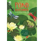 Pond Explorer: Nature Sticker & Activity Book