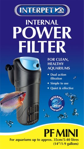 Interpet Water Filter – PF Mini – 200 Litres Per Hour/44 Gal/hr Reviews