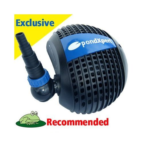 Pondpush 3200 Garden Pond Pump for pond filters & waterfalls