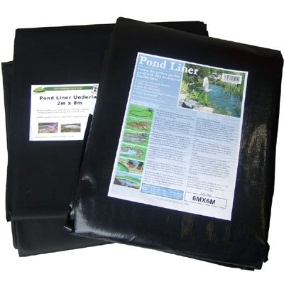 Pond Liner 5X5m with 40yr guarantee and FREE Underlay