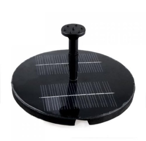 Solar Powered Water Pump Garden Fountain Pond Feature / Solar Powered Fountain Pump Kit for Fountains, Waterfalls and Water Displays