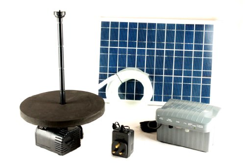 PK Green 3M Solar Fountain Pump Kit – with 20W Panel, Battery Backup and all-year Mains Adaptor Reviews