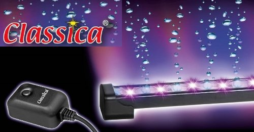 CLASSICA LED LIGHT AIR CURTAIN BUBBLE STRIP HOSE AERATION BUBBLES WALL STONE MULTI COLOUR (AL363 – 60cm LED BUBBLE STRIP) Reviews