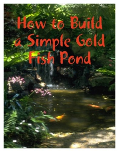 How to Make a Simple Goldfish Pond