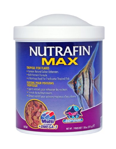 Nutrafin Max Tropical Fish Flakes 215g Reviews