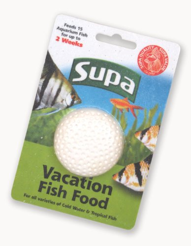 Supa Vacation 2 week Holiday Fish Food Block 25g