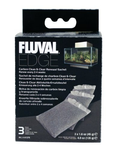 Fuval Edge Carbon Clean and Clear