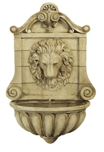 Ambiente King Lion Head Wall Fountain Water Feature
