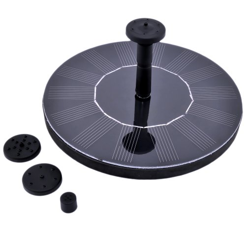 Victsing® Solar Powered Water Pump Garden Fountain Pond Feature / Solar Panel Power Fountain Watering Pump Kit for Fountains, Waterfalls and Water Displays