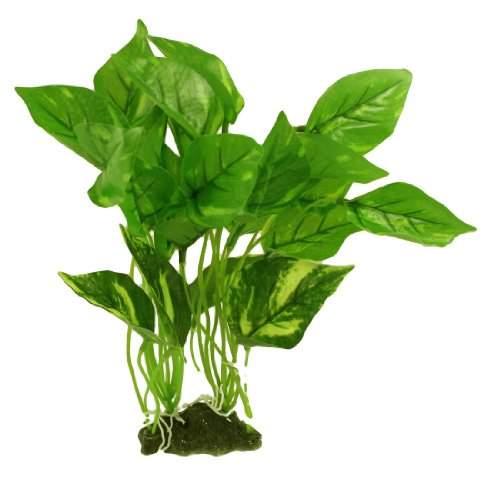 Fish Tank Aquarium Aquascaping 11.8″ Height Green Plastic Grass Plant
