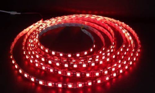 2x LED Strips 30 cm 30cm Red 15SMD RGB One Colour for Kitchen Light String Light Hose Decorative Fairy Lights Aquarium Waterproof Moonlight Bath Shower Window House Door Glass Shelf Car Underbody Terrarium Pool Many Uses