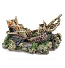 Caldex 2682 Large Galleon Fish Tank Aquarium Ornament