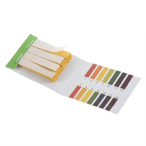 SODIAL(R) 80 Strips Full pH 1-14 Test Indicator Litmus Paper Water Soil Testing Kit Reviews