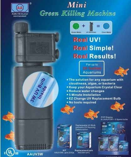 AQUARIUM UV FILTER STERILIZER