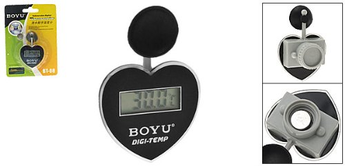 Heart Shaped Submersible Aquarium Digital Thermometer