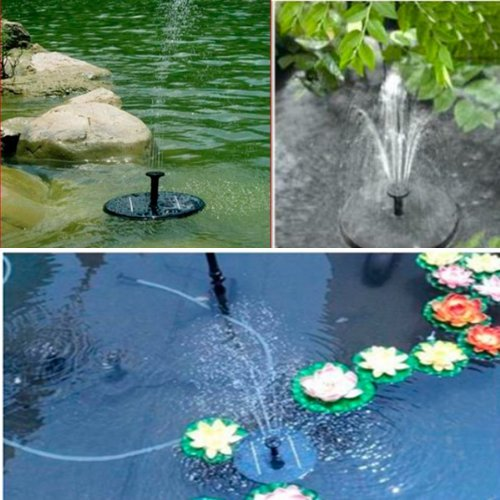 KK-ELECTRONICS Solar Powered Water Pump Garden Fountain Pond Feature / Solar Powered Fountain Pump Kit for Fountains, Waterfalls and Water Displays Reviews