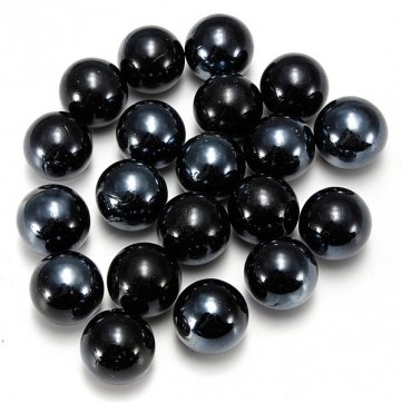 Man Friday 10PCS Black Glass Marbles for Aquarium Decoration Or Child Play Reviews