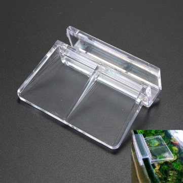 Man Friday 4PCS Aquarium Tank Plastic Clips Glass Cover Strong Support Holders